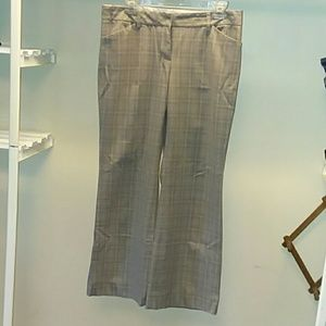 Express Plaid Dress Pants